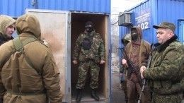 Колонна судерживаемыми вДНР лицами доставлена кместу обмена пленными