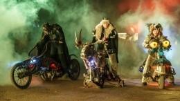 «Ночные волки» расскажут свою новогоднюю сказку вБайк-центре— видео
