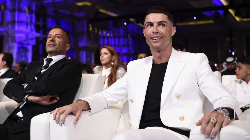 Роналду вновь признан лучшим футболистом года
