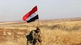 Российские военные полицейские начали патрулировать трассу насевере Сирии