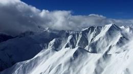 Четыре человека погибли из-за схода лавины вАльпах