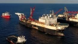 Швейцарская компания Аllseas несобирается возобновлять прокладку «Северного потока— 2»