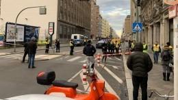 Вцентре Берлина звучат выстрелы, стянуты наряды полиции