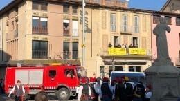 Колокольня взорвалась вовремя праздника, вКаталонии, пострадали 14 человек