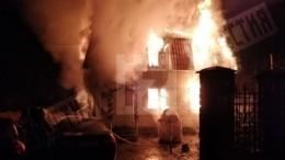 Двое детей погибли встрашном пожаре вПодмосковье