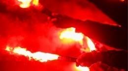 Вцентре Петербурга неизвестные блокировали движение ижгли файеры