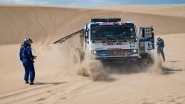 Экипаж «КАМАЗ-мастер» Шибалова победил напервом этапе ралли «Дакар»