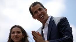 Хуан Гуайдо снят споста главы парламента Венесуэлы