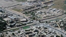 Упосольства США вБагдаде разорвались две ракеты