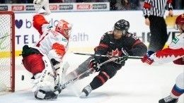 Российский хоккеист получил клюшкой полицу откапитана канадской сборной наМЧМ