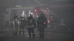 Три человека погибли при пожаре вмногоквартирном доме вТульской области