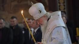 Патриарх Кирилл поздравил православных верующих сРождеством