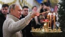 Путин подарил икону Спасо-Преображенскому собору вПетербурге