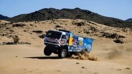 Экипаж Каргинова победил втретьем этапе ралли «Дакар» взачете грузовиков