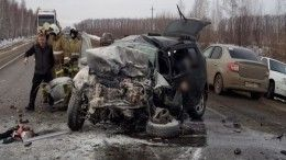 Фото: Четыре человека погибли влобовом ДТП вТамбовской области