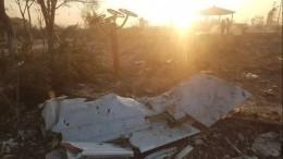 Названа предварительная причина крушения Boeing-737 под Тегераном