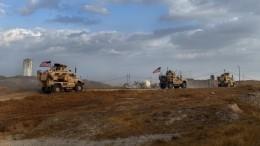 Американские военные покинули две базы вСирии инаправились кгранице сИраком