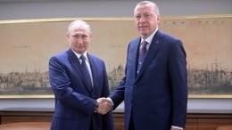 Путин иЭрдоган призвали стороны конфликта вЛивии прекратить огонь с12января