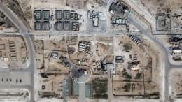 Опубликованы фото последствий ракетных ударов Ирана побазам США