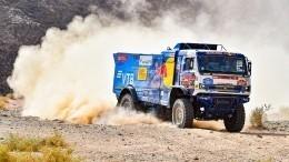 Четвертый этап ралли «Дакар» взачете грузовиков стал триумфом россиян
