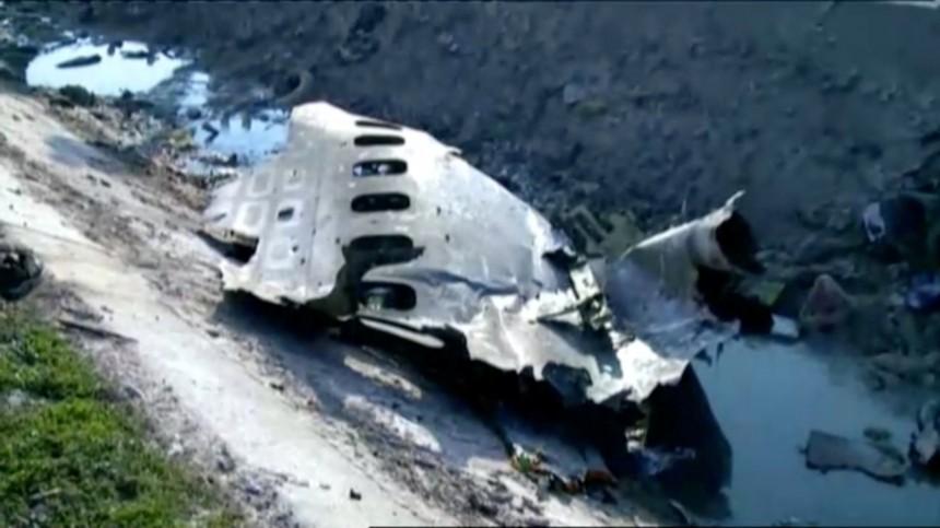 Разбившийся украинский Boeing-737 загорелся ввоздухе
