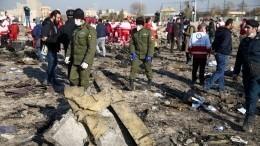 СНБО Украины неисключает версию теракта при крушении самолета вИране