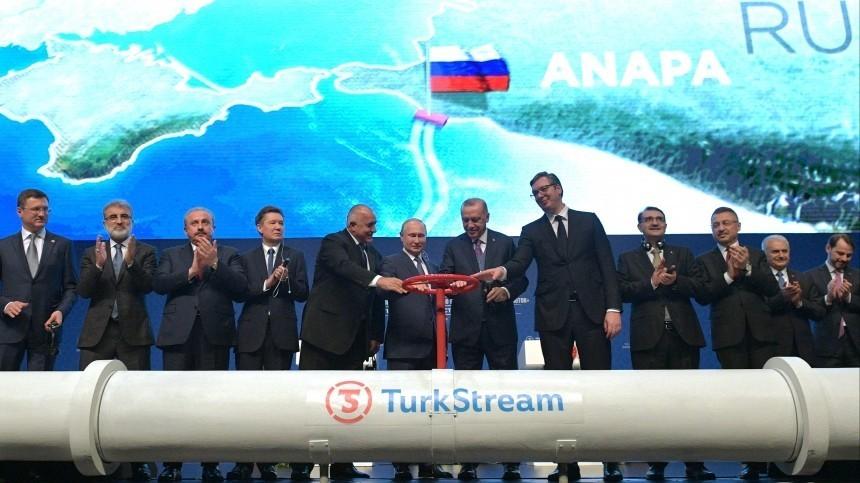 Попытка США помешать запуску «Турецкого потока» провалилась