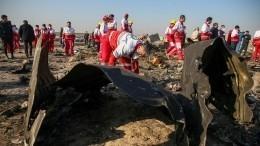 СНБО Украины скрывает три изсеми версий катастрофы Boeing вИране