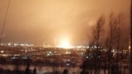 Момент взрыва, после которого загорелся НПЗ вУхте, попал накамеры