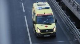 Иномарка протаранила пешеходов под Воронежем вовремя оформления ДТП