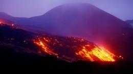 Проснулся самый активный вулкан Мексики Попокатепетль— видео