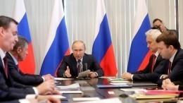 «Навести здесь порядок»: Владимир Путин потребовал улучшить качество жизни крымчан
