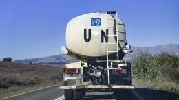 Совбез ООН продлил режим трансграничных гуманитарных поставок вСирию