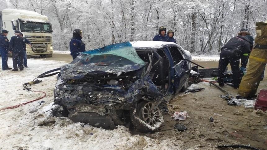 Граждане Украины пострадали вДТП вОрловской области, есть погибшие