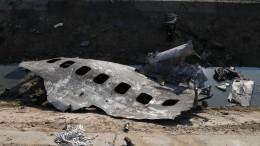 Иранский КСИР взял насебя полную ответственность засбитый украинский Boeing
