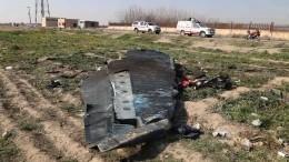 Экипаж сбитого под Тегераном самолета допоследнего вел переговоры сдиспетчером