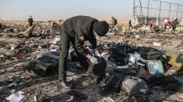 Глава СНБО Украины: опознано 30% тел погибших при крушении Boeing-737