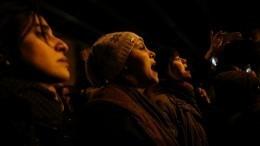 Массовые протесты после авиакатастрофы сBoeing 737 проходят вИране