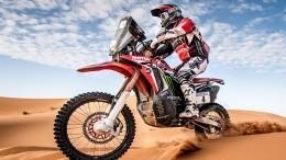 Португальский мотогонщик погиб вовремя седьмого этапа «Дакара»