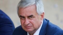 Хаджимба подтвердил, что покинул пост президента Абхазии