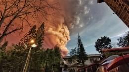 Международный аэропорт наФилиппинах закрыт из-за вулкана Тааль