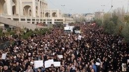 ВТегеране продолжаются акции протеста из-за сбитого Boeing