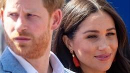 Принц Гарри иМеган Маркл поставили ультиматум королевской семье