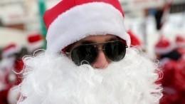 Неизвестный вшапке Деда Мороза украл норковую шубу измосковского храма