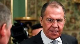Лавров заявил опрогрессе напереговорах поЛивии