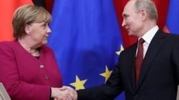 Путин иМеркель обсудили потелефону подготовку конференции поЛивии