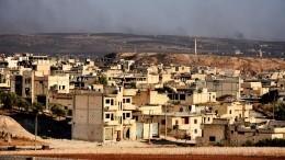 Больше тысячи мирных жителей вышли израйонов Идлибской зоны диэскалации