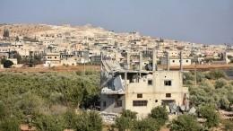 Изпровинции Идлиб, часть которой контролируют боевики, начали выводить мирных жителей