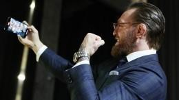 Конор Макгрегор заявил, что пьянствовал перед боем сХабибом Нурмагомедовым