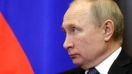 Путин поручил Счетной палате контроль над исполнением национальных проектов